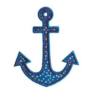 Anchor's Aweigh applique design by Big Dreams Embroidery