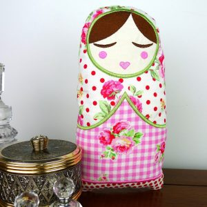 Anoushka Babushka Doll Toy ITH Project by Big Dreams Embroidery