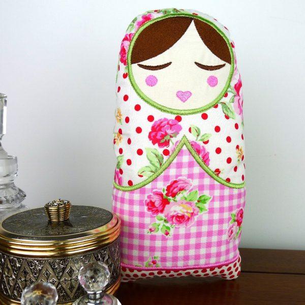 Anoushka Babushka Doll Toy ITH Project by Big Dreams Embroidery