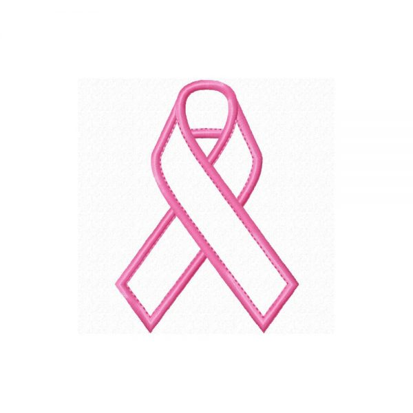 Awareness Ribbon applique by Big Dreams Embroidery