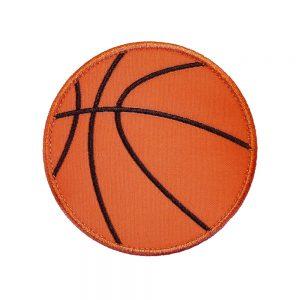 Basketball applique design by Big Dreams Embroidery