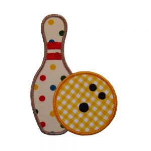 Bowling Pin And Bowling Ball Set