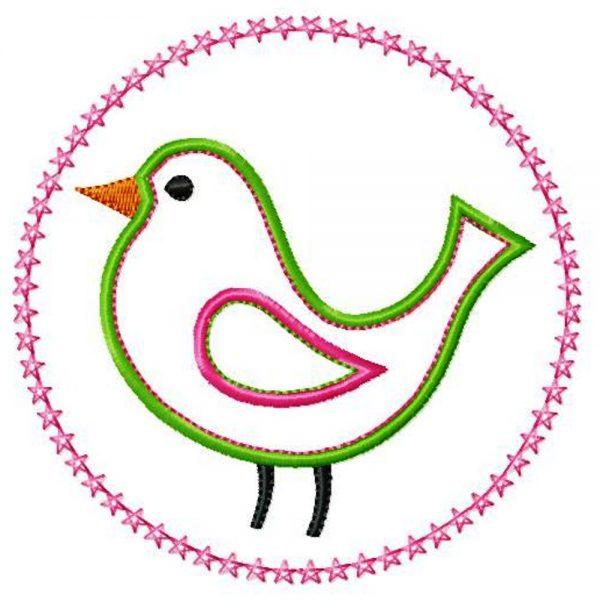 Bird With Starry Circlet-0