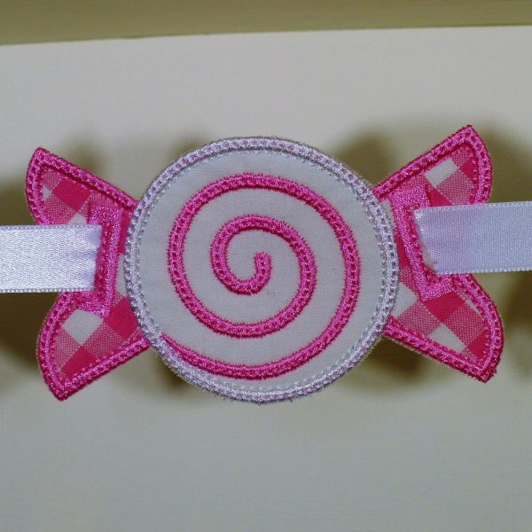 Candy Piece Banner Spacer ITH Project