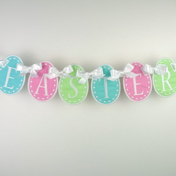 Easter Egg Banner ITH Project by Big Dreams Embroidery