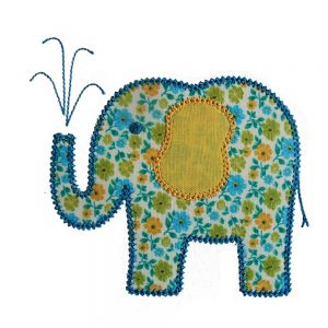 Elina Elephant by Big Dreams Embroidery