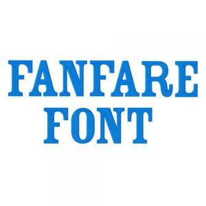 Fanfare Font