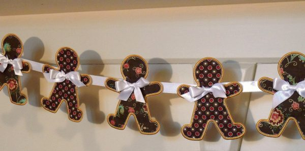 Gingerbread Man Banner ITH Project