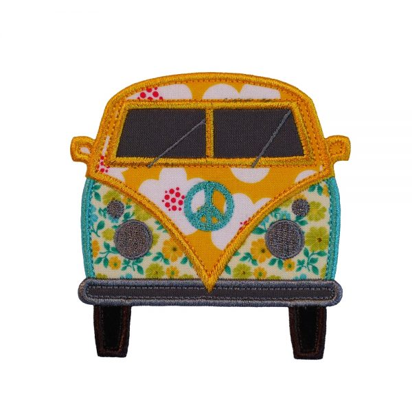 Hippy Van applique design by Big Dreams Embroidery