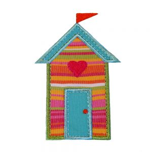 Beach Hut Range by Big Dreams Embroidery
