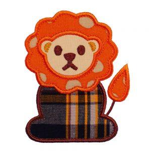 Lion applique designs