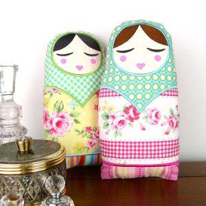 Natasha Babushka Doll Toy ITH Project by Big Dreams Embroidery