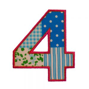 Number Four Birthday Set-0
