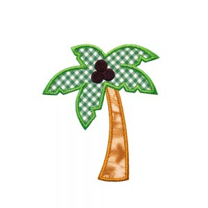 Palm Tree by Big Dreams Embroidery