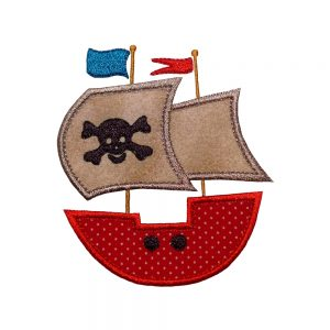 Pirate Ship by Big Dreams Embroidery