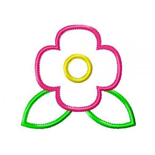 Poppy Flower by Big Dreams Embroidery