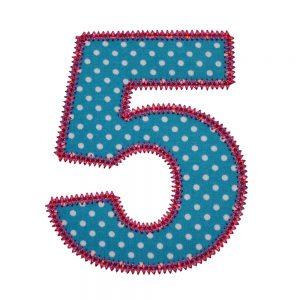 Pretty Applique Numbers applique designs by Big Dreams Embroidery