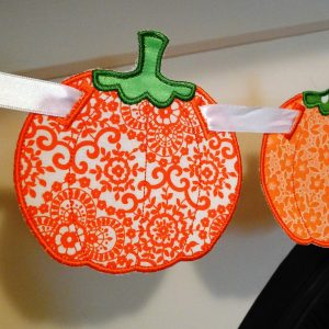 Pumpkin Banner ITH Project