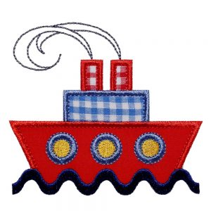Ship Ahoy by Big Dreams Embroidery