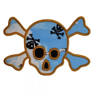 Skull and Crossbones by Big Dreams Embroidery