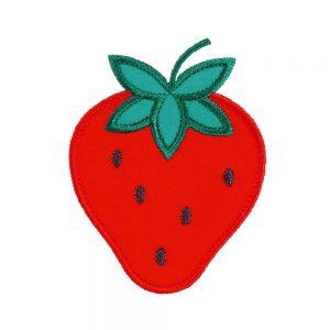 Strawberry applique design by Big Dreams Embroidery