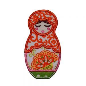 Tatiana Babushka Doll applique design by Big Dreams Embroidery