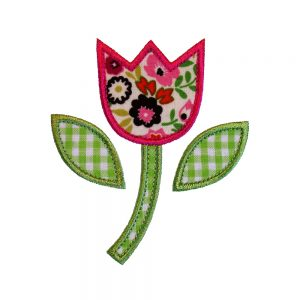 Tulip Flower by Big Dreams Embroidery