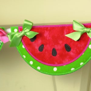 Watermelon Banner ITH Project by Big Dreams Embroidery
