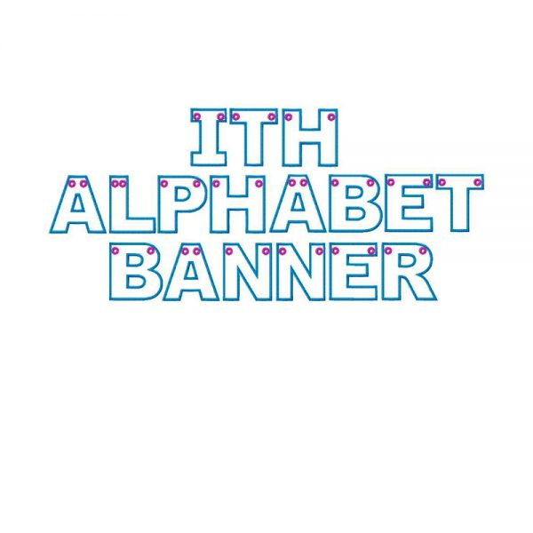 Alphabet Banner ITH Project