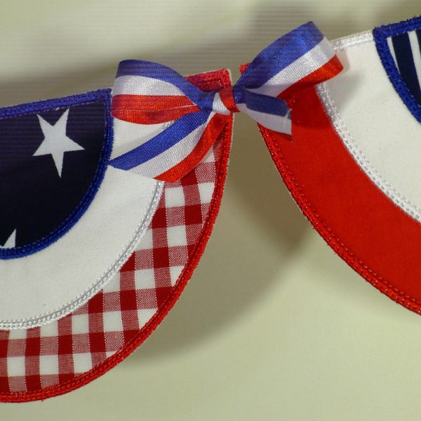 Patriotic Bunting ITH Project