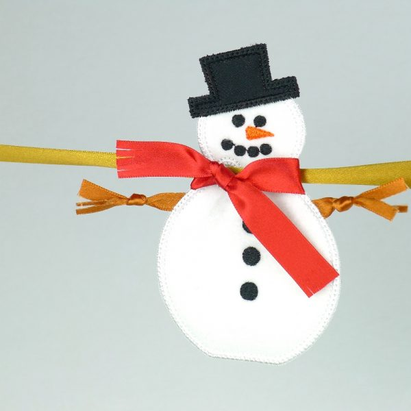 Snowman Banner ITH Project