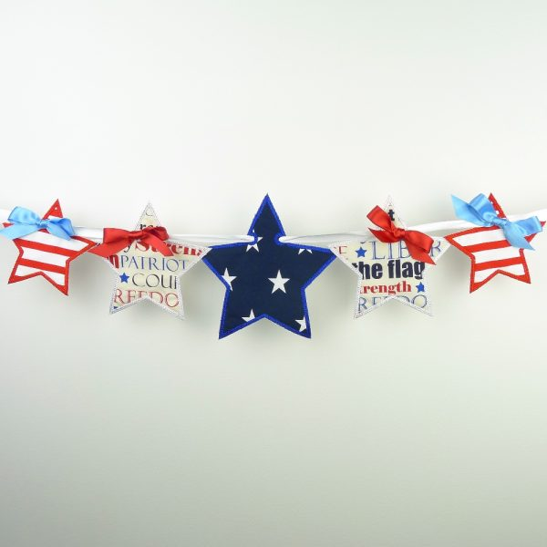 Star Banner ITH Project by Big Dreams Embroidery