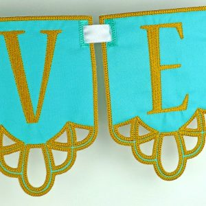 Cutwork Banner ITH Project by Big Dreams Embroidery