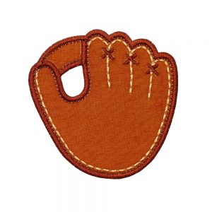 Baseball Glove applique design pattern by Big Dreams Embroidery