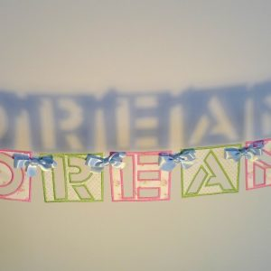 Stencil Banner ITH Project by Big Dreams Embroidery