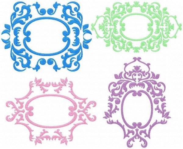 Chinoiserie Monogram Frames
