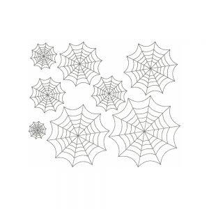 Spiderweb Redwork by Big Dreams Machine Embroidery Designs