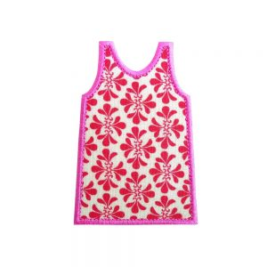 Shift Dress Lilly Pulitzer applique design by Big Dreams Embroidery