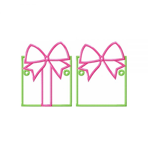 Gift Box Banner ITH Project by Big Dreams Embroidery