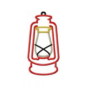 Lantern applique design by Big Dreams Embroidery