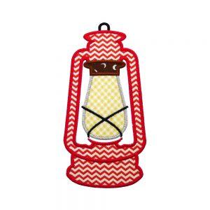 Lantern applique design by Big Dreams Embroi