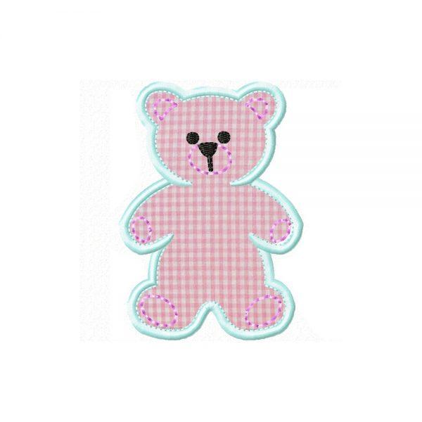 Teddy Bear applique design by Big Dreams Embroidery