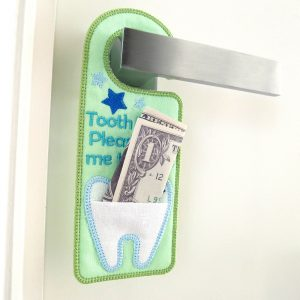 ITH Tooth Fairy Door Hanger by Big Dreams Embroidery