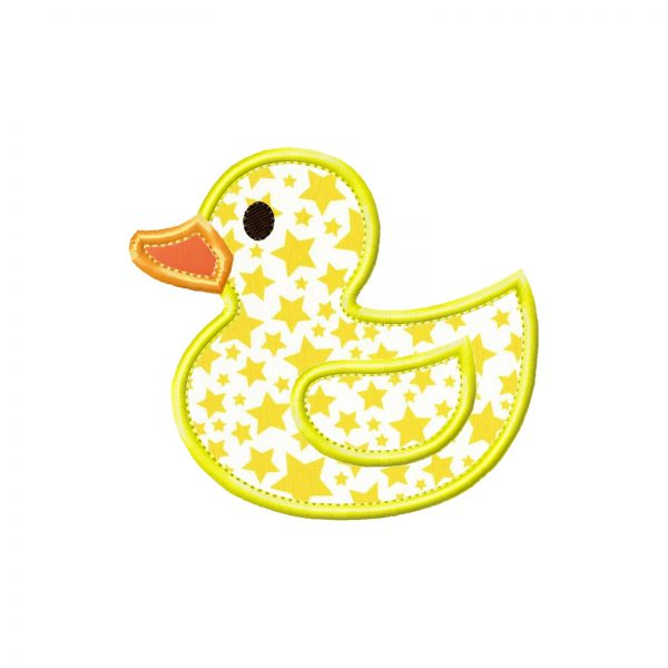 Rubber Ducky by Big Dreams Embroidery